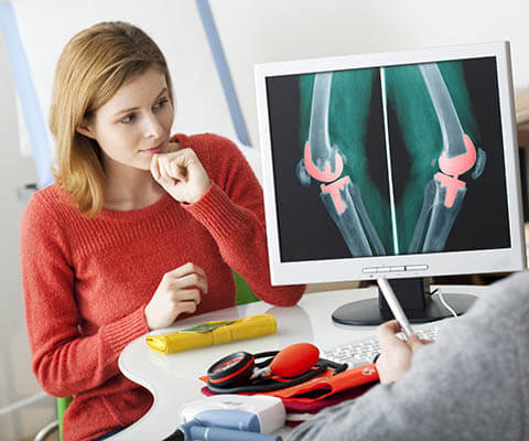 Joint mobilization and joint replacement