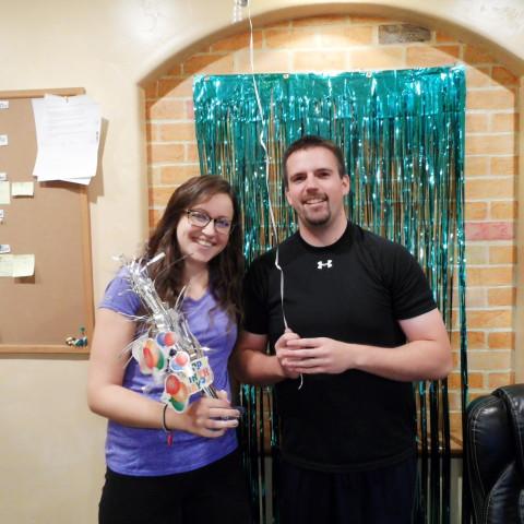 Dustin & Kas birthday